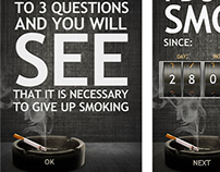 "Mobile application ""No smoking"""