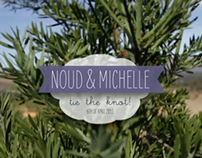 Noud & Michelle Tie the Knot