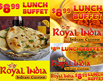 Royal India Display Ads