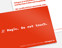Cologne.io Image Postcards
