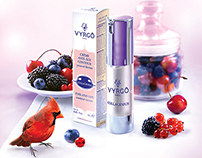 Package design of cosmetic «VYRGO»