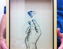 Hand & Diamond