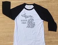 Michigan Made T-shirts