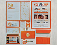 Kids Art Camp Program 2013