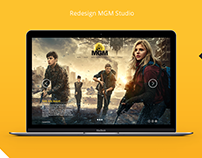 Redesign MGM website