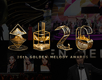 金曲26 Golden Melody Award 2015 Showreel / Main Visual