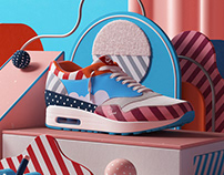 "Nike x Parra: Airmax 1 ""Friends & Family"""