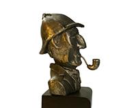 Sherlock Holmes – Sculpture