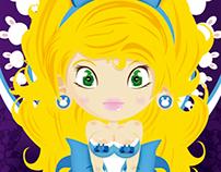 Alice in art nouveau