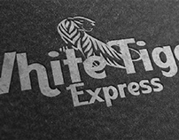 White Tiger Express Trucking Company Logo