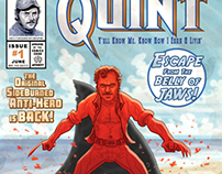 The Mighty Quint/Wolverine Cover #1