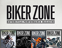 Biker Zone Magazine - Header