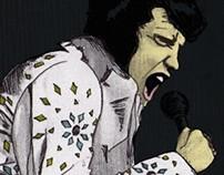 Elvis - Ilustration