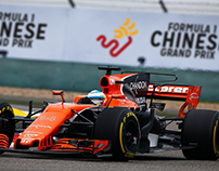 Formula 1 Race Branding
