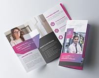 Clean Tri fold Brochure-Nice Colors