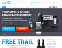 VoIP44 Website Design