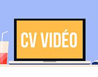 CV Vidéo motion design