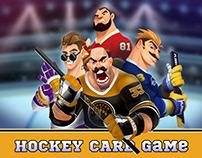 Hockey Card Game