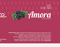 Embalagem Picolé Amora
