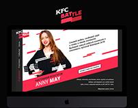 KFC Battle: Blog