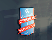 Free Christmas Badges Download