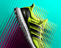 adidas Ultra Boost FW15 Energy Takes Over Campaign