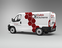 Cubic Kitchens Branding