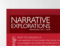 Narrative Explorations Exhibition