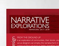 Narrative Explorations Exhibition