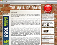 Webdesign: The Wall of Shame