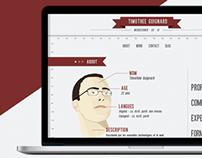 Personal Portfolio - UX / UI / Webdesign