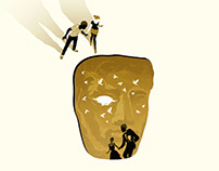BAFTA Film Awards Lead Illustration
