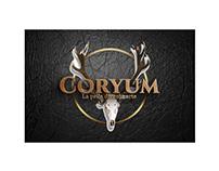 Progettazione grafica logo Coryum