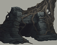 Concept Art: Rocks & Caves