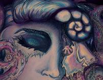 Ursula Pen and Watercolor