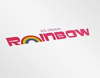 Branding - Rainbow Ice-cream