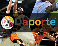 Daporte Startup logo.