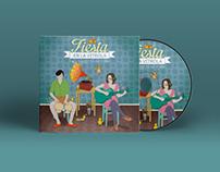 Cover Design | Fiesta en la Vitrola