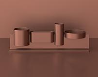 Skyline - desk stationery set