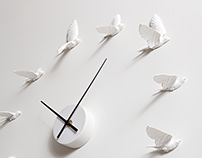 Swallow X Clock