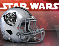 STAR WARS. American Football League.