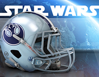 STAR WARS. National Football League.