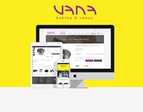 Vanashop Web Design
