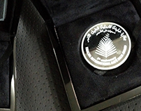 SILVER COIN : AED 50