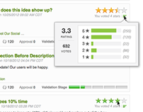 Star-rating Ideas