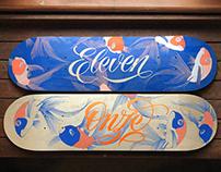 Eleven | Skateboard Design