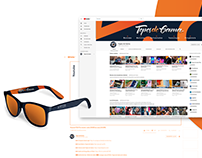 Topes de Gama - Rediseño identidad visual