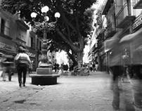 En las calles de Puebla