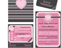 Summer's Bachelorette Invitation