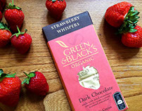 Green and Black Strawberry Whispers